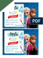 Invitacion Mila