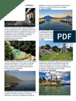 20 Lugares Turisticos de Guatemala