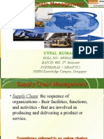 UTPAL's PPT on Supply Chain Management