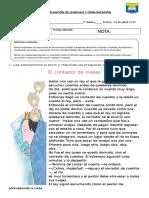 Evaluación Lenguaje y comunicación.doc