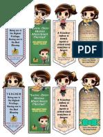 Penanda Buku Hari Guru