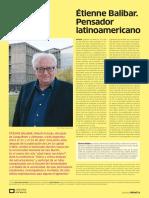 3 Etienne Balibar. Pensador Latinoamericano