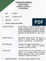 Ficha Ramsar El Jocotal