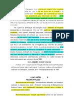 Declaracao_de_Cartagena - Conceito Ampliado de Refugiado - Quadro de Grave Violação de DH