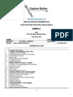 GEPB, Química I. 1era Edición, 2017