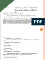 Bahasa Dan Kepribadian Indonesia