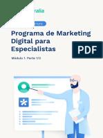 Marketing para especialistas