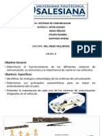 Presentacion Electronica Automotriz Sistemas de Comunicacion
