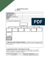 Formato Anális y Descripción de Cargos