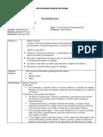 Plano de Aula - Francos