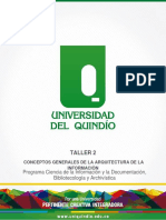Taller 2 Arquitectura de La Información Empresarial Grupo 3 Alba Zapata