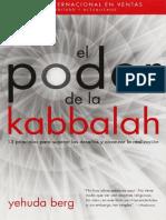 El Poder de La Kabbalah Yehuda Berg