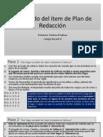 Modelado del ítem de Plan de Redacción.ppt