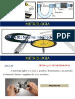 Aula 01 - Sistema Internacional de Unidades