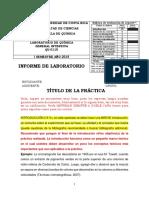 Ejemplo de Informe Completo Con Rúbrica, Formato e Indicaciones
