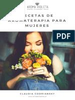Recetas de Aromaterapia Para Mujeres Por Claudia Codriansky Aroma Violeta.01