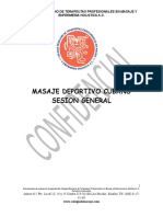 Masaje Deportivo Escuela Cubana X2