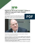 Calidad de La Gerencia en Colombia