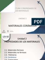 U2 Propiedades Ceramicos Vf19