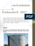 Porduccion II 2017 - Tanques en La Industria Petrolera.