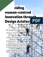 Scaffolding Human-centred Innovation Through Design Artefacts