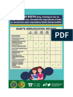 Basic Immunization schedule and HIV