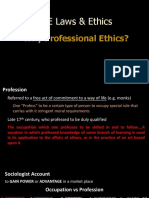 Chapter 1 - Why Professional Ethics 1