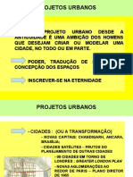 8.1 - PROJETO URBANO E A PRODUÇÃO DO ESPAÇO DA CIDADE