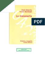 Ferrer Menimeli, Jose Antonio - La Masoneria.pdf