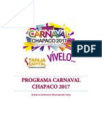 carnaval chapaco