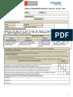 Ficha de Monitoreo Desempeño Docente Cetpro 2