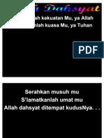 ALLAH DAHSYAT (Kerakkanlah KekuatanMu Ya Allah)