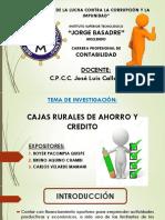 Cajas Rurales de Ahorro y Credito 2019 - Copia