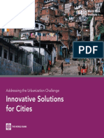 Soluciones Innovadoras Para Las Ciudades - Banco Mundial