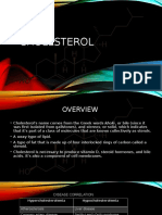 Cholesterol Analyte Report