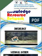 KRN Rogramme Presentation