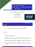LAI - Slides Aula 10 - Projeto Ladder (Case Final)