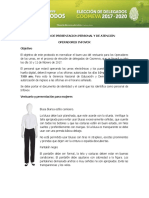 Protocolo de Presentacion Personal Operadores Infovox