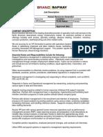 HR Generalist (002)