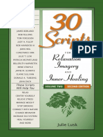 30 scripts for relaxation imagery