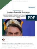 Cem Dias Sob o Domínio Dos Perversos _ Opinião _ EL PAÍS Brasil