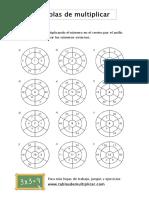 ruleta de multiplicación