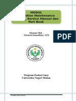 LK 2 Bahan Ajar Modul OMM Service Manual Dan Part Book