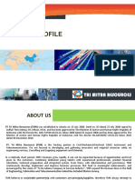 Company Profile PT Tri Mitra Resources