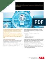 IEC 60034-2!1!2014-Standard on Efficiency Measurement Methods