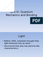 Quantum Chemistry (REAL) Part 1A for October 19