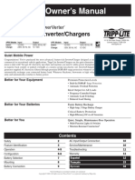 Tripp Lite Owners Manual 754043