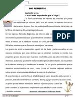LECTURA - LOS ALIMENTOS.docx