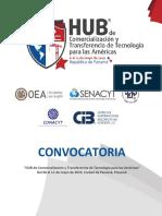 Convocatoria Hub Panamá 2019