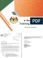 Training Manual E-Review